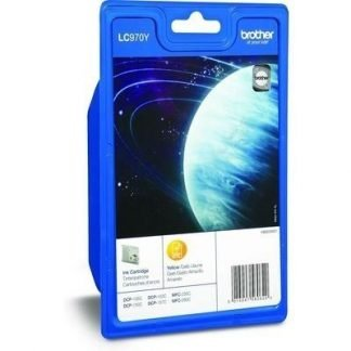 Brother LC-970 inktcartridge geel standard capacity 300 pagina's 1-pack