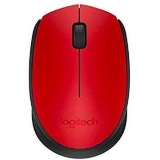Logitech M171 Wireless Optical red