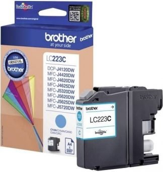 Brother LC-223 inktcartridge cyaan