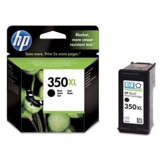 HP 350XL inktcartridge zwart high capacity 25ml