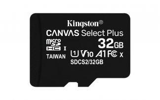 Kingston Canvas 32 GB MicroSDHC Klasse 10 UHS-I