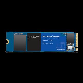 WD Blue SN 550 NVME M.2 SSD Recht